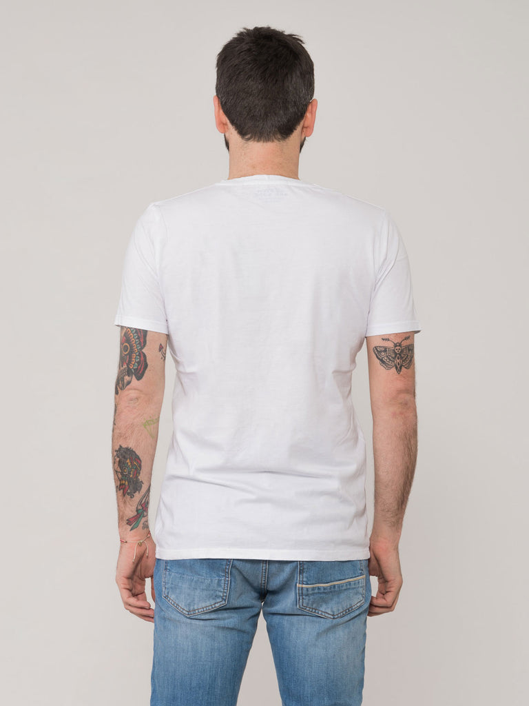 SCOTCH & SODA - T-shirt basic bianca