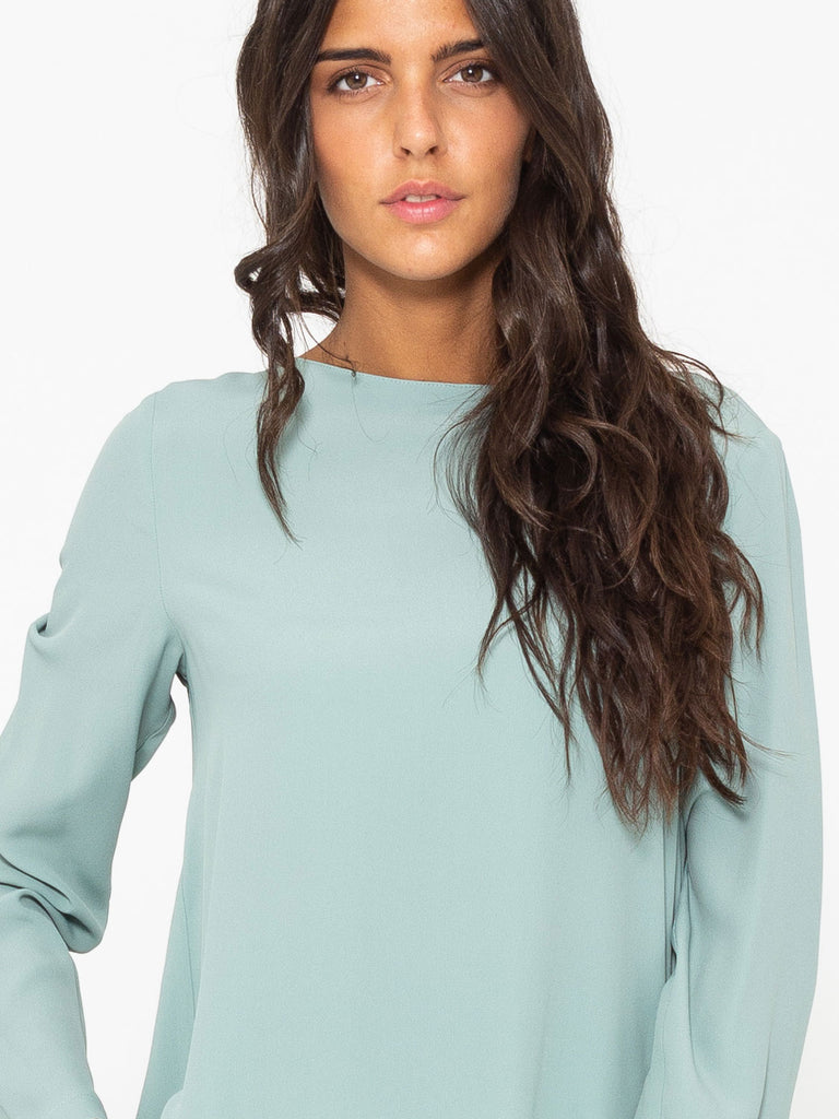 SEMICOUTURE - Blusa Cindy menta