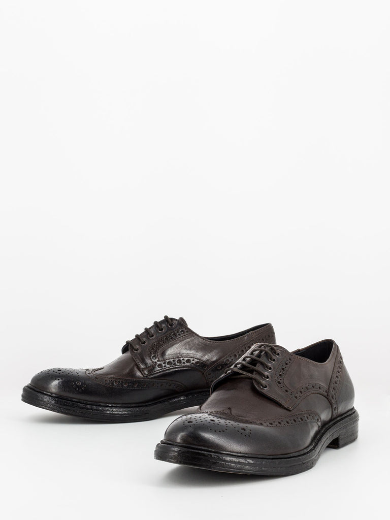 STIMM - Derby full-brogue marroni