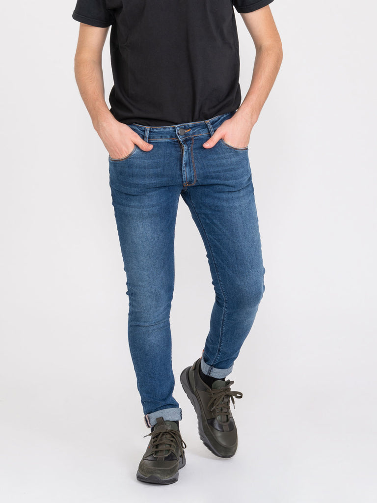STIMM - Tom Log In denim medio scuro used
