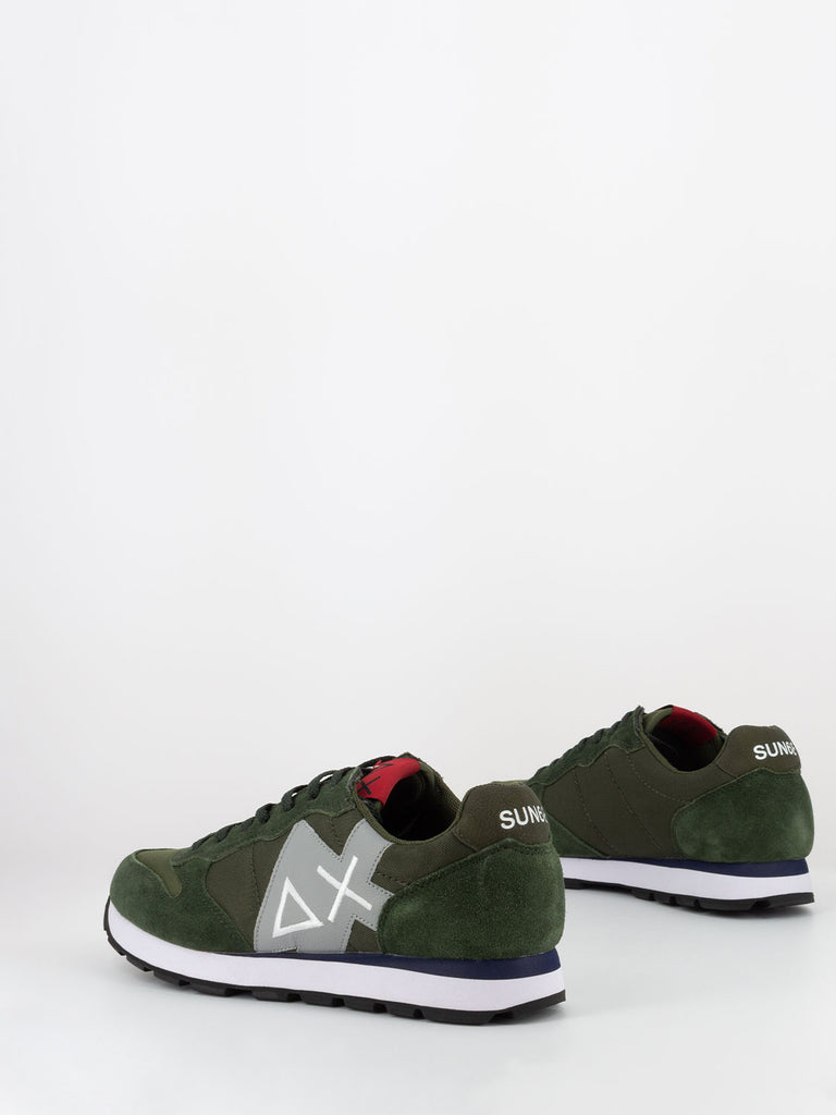 SUN 68 - Sneakers Tom patch logo militare