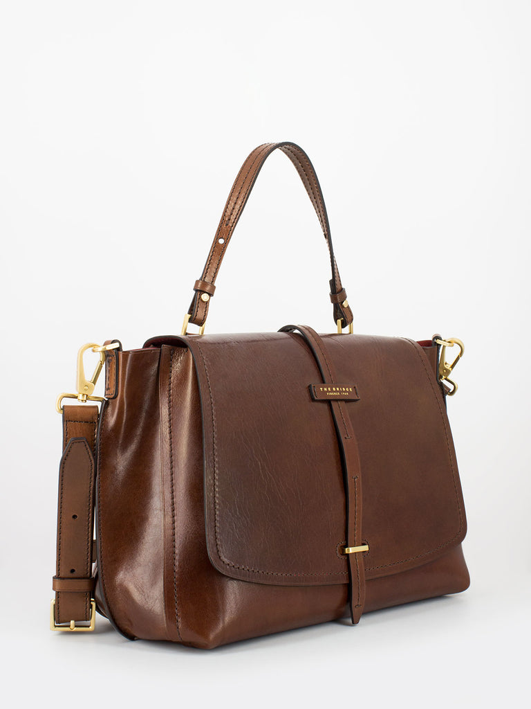 THE BRIDGE - Doctor bag Dalston marrone