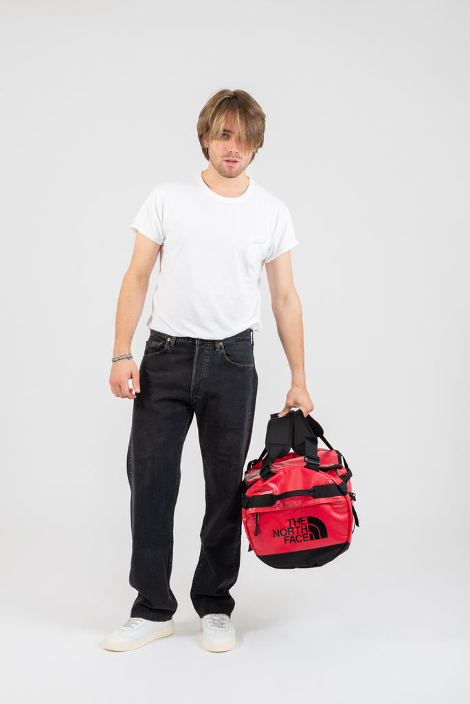 THE NORTH FACE - Borsone Base Camp Duffel small rosso