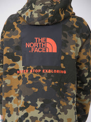 THE NORTH FACE - Felpa red box camouflage