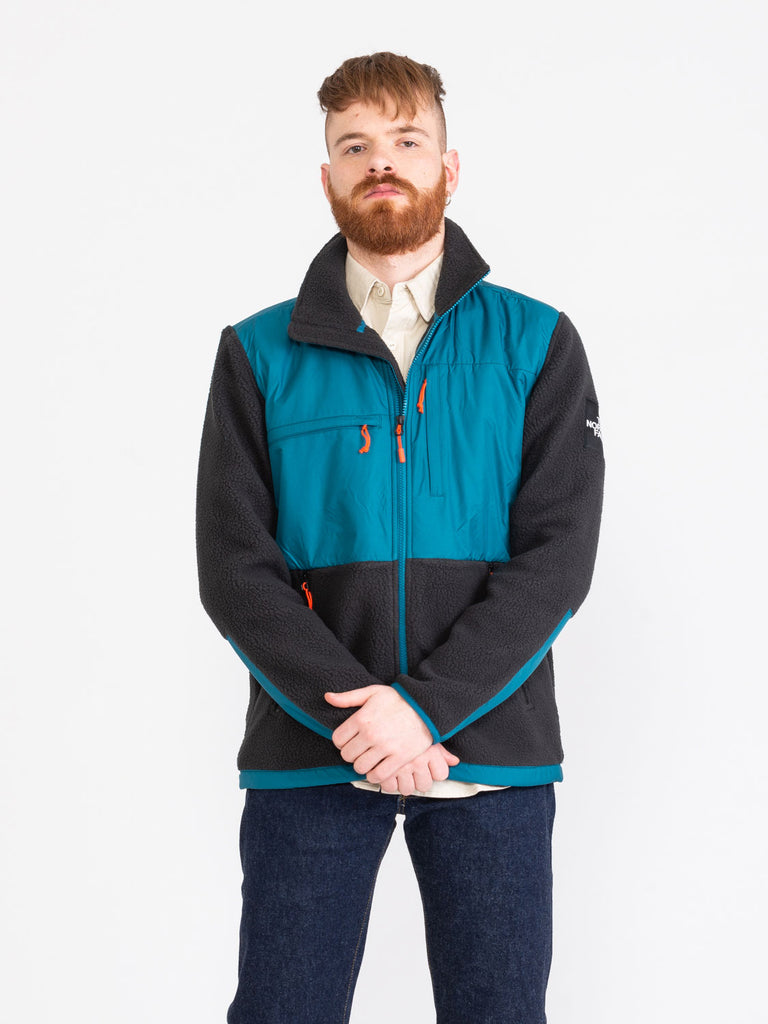 THE NORTH FACE - Giacca Denali Fleece blucoral / black
