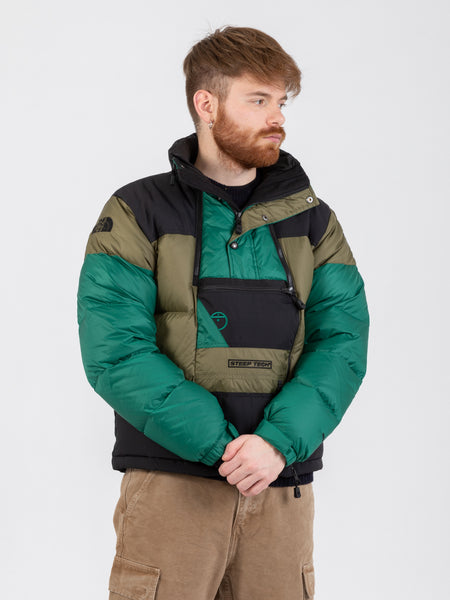 Piumino Anorak Steep Tech verde