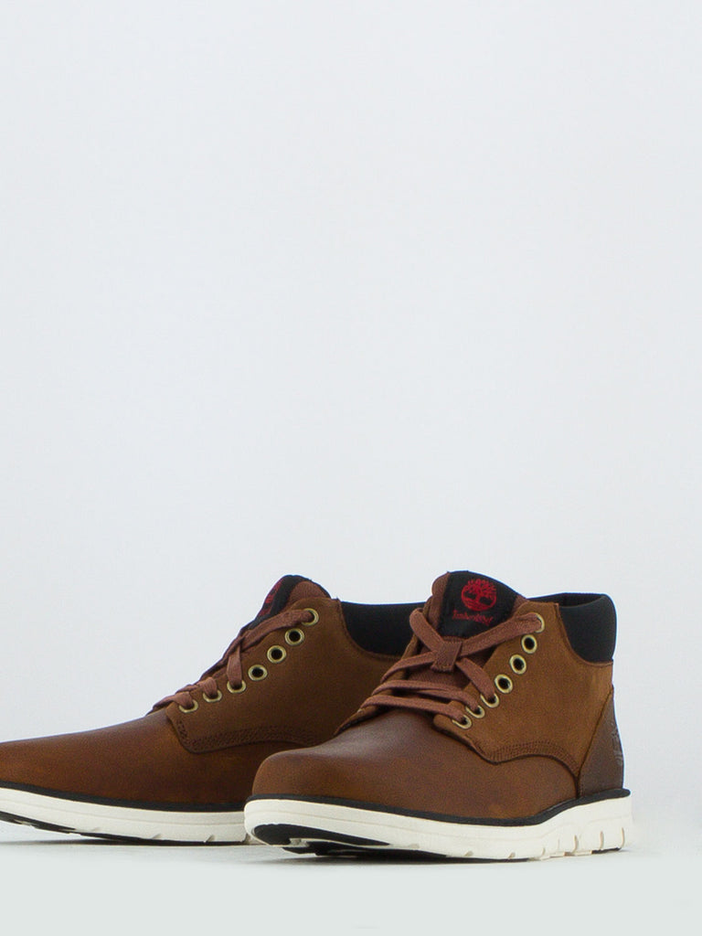 TIMBERLAND - Chukka leather marroni