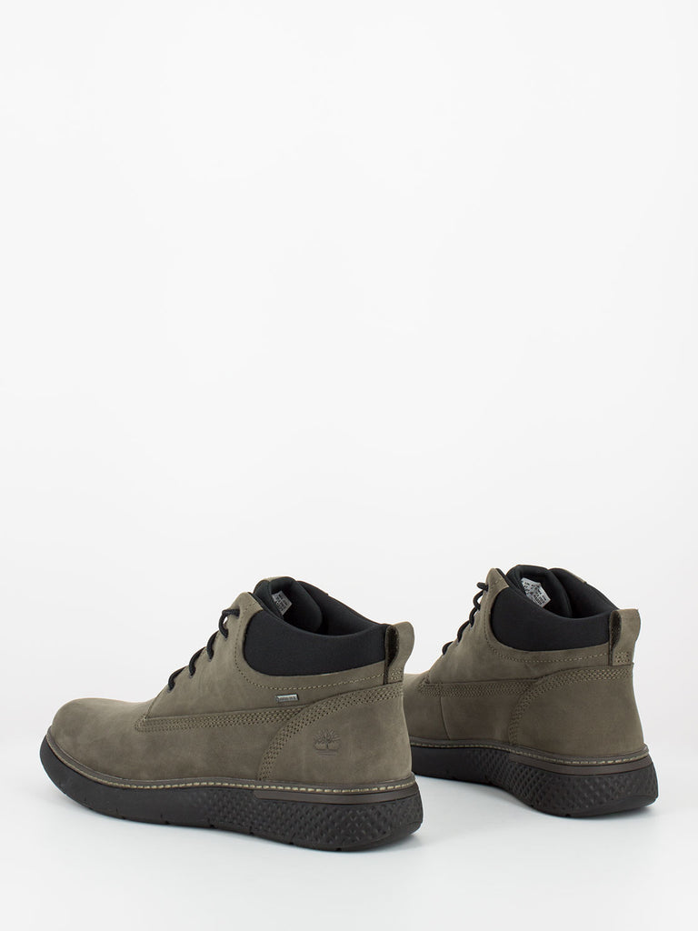 TIMBERLAND - Cross mark gtx chukka olive