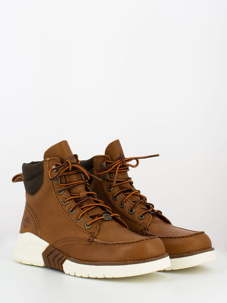 M.T.C.R. Moc toe boot marrone chiaro