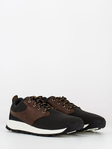Sneakers Tuckerman low nero / marrone