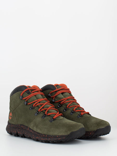 World hiker mid verde scuro