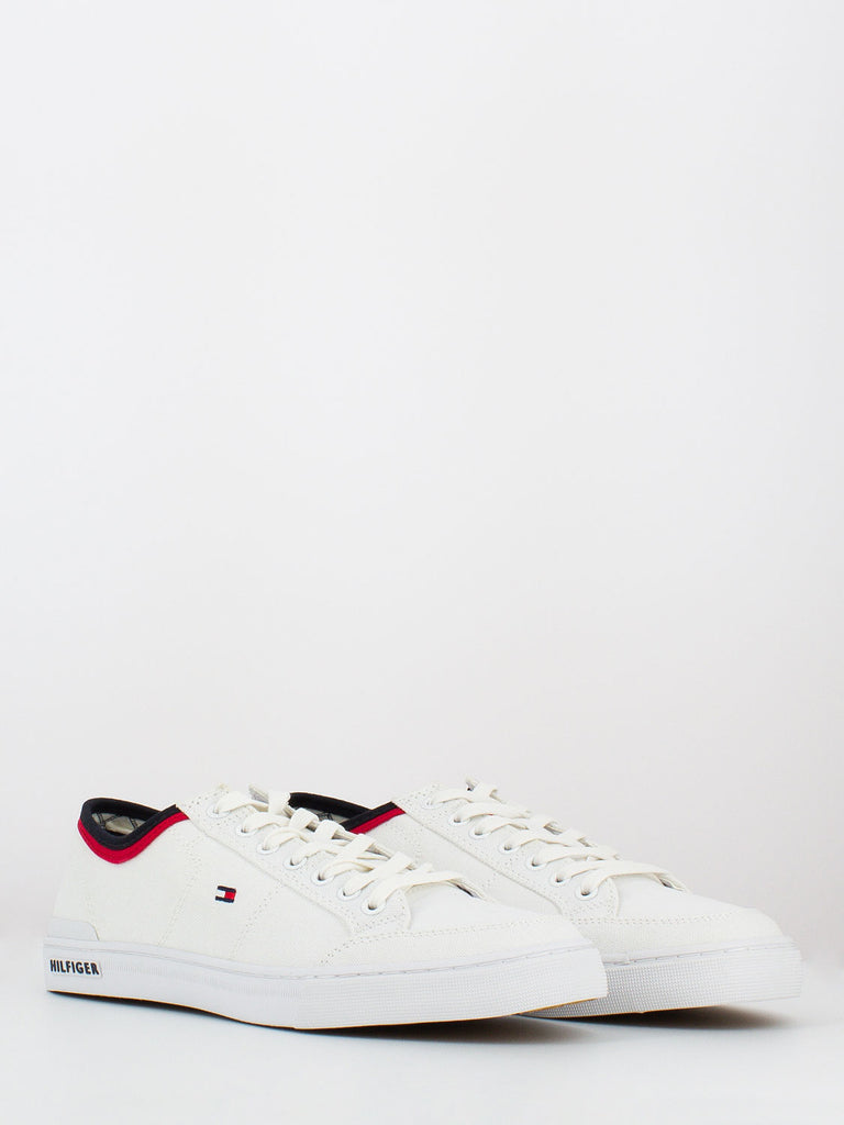 TOMMY HILFIGER - Sneakers core corporate bianche