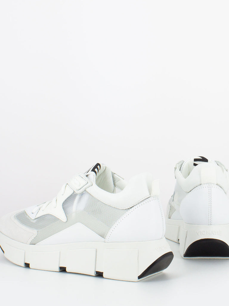 VIC MATIE' - Sneakers trasparenti bianco / ice