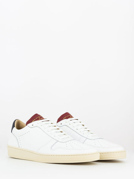 Sneakers bianco / bordeaux / navy