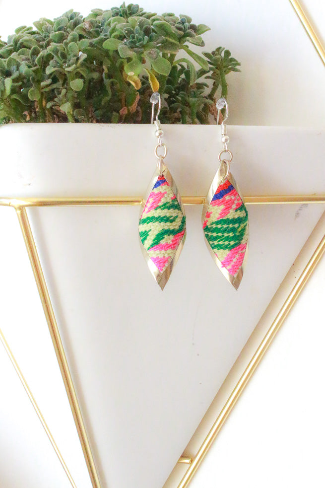 Flamingo & Cactus Fiesta Earrings - Wild Hearts & Halos