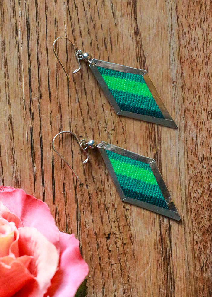 Kale-ing it Earrings - Wild Hearts & Halos