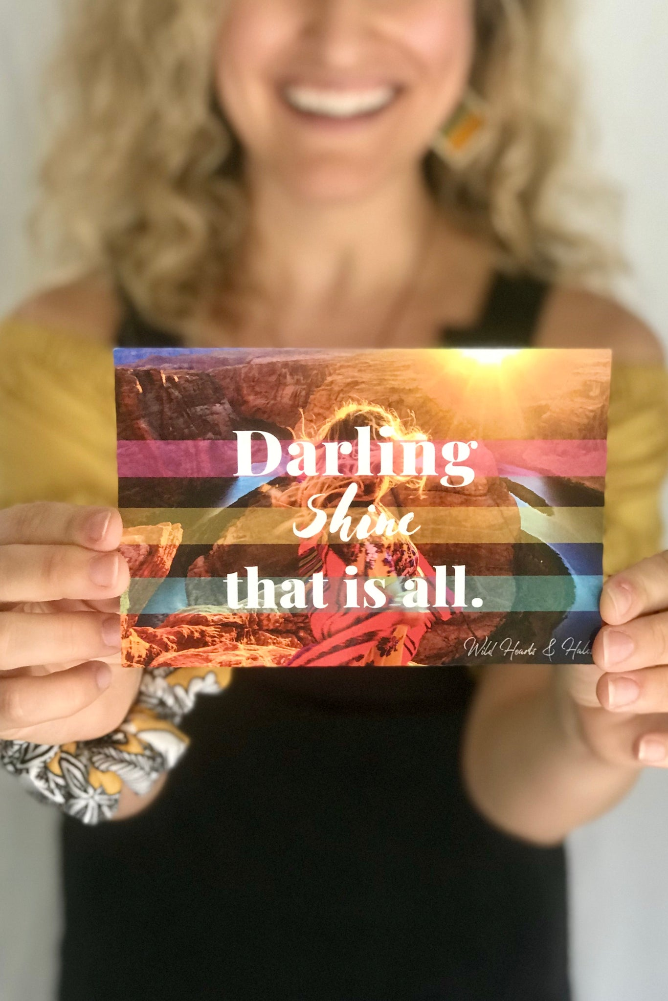 Positivity Postcard Packs - Wild Hearts & Halos