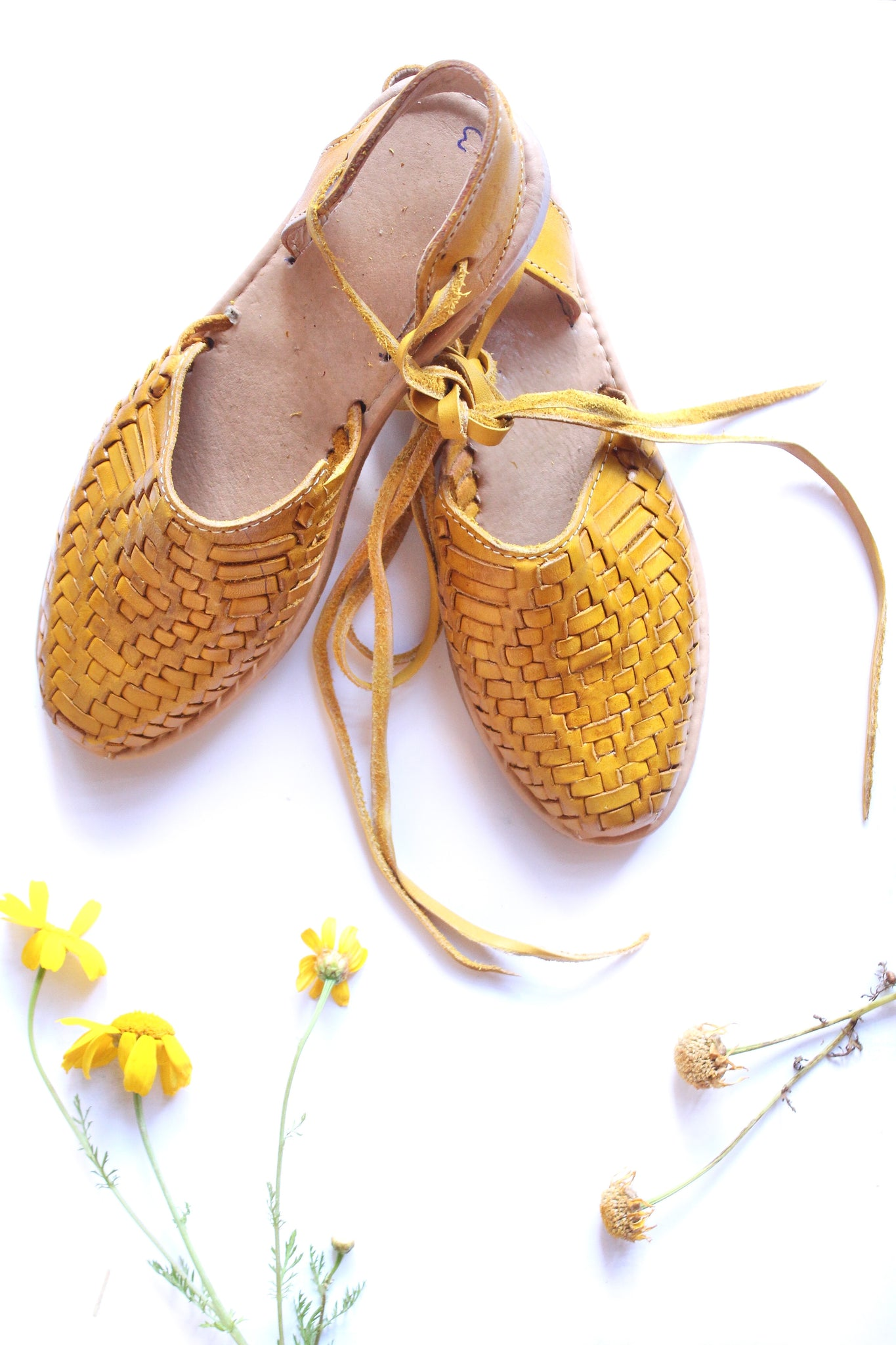 Sunflower Power Huarache Sandals - Wild Hearts & Halos