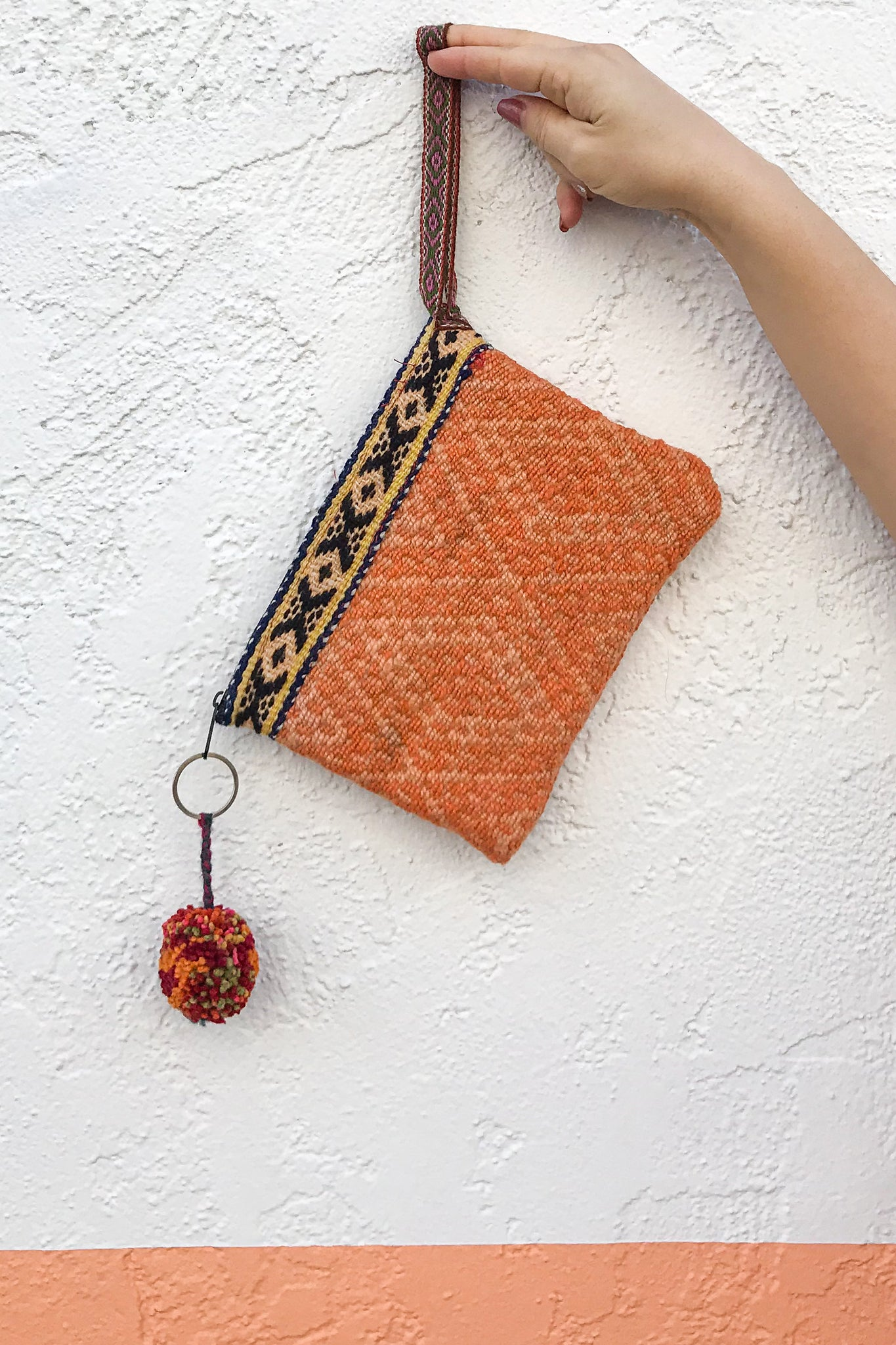 Peachy Days Wool Wristlet - Wild Hearts & Halos
