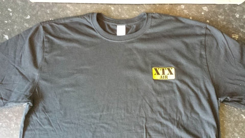 XTX Branded T Shirt - Black Colour - Extra Extra Large (XXL)