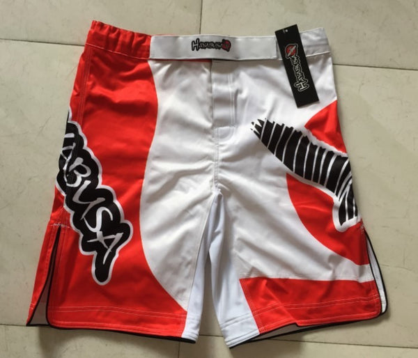 wko 10005  h2 MMA 158 professional RED Fight shorts - Muay Thai/Jujitsu shorts