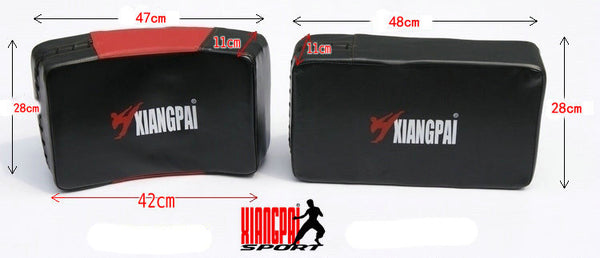 WKO 10017 Thicken big size arc-shaped camber straight PU Iran's target fighting boxing mitt sandbag