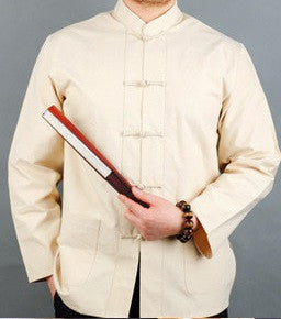 WKO SKU 00054 Men Chinese Traditional Tang Suit Jacket Wu Shu Tai Chi Clothing