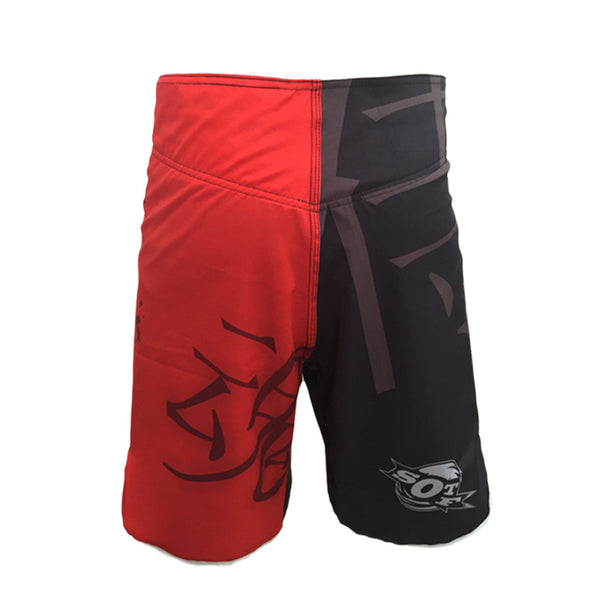 WKO 10050 MMA men's boxer shorts short catch cage kick boxing fighting muay thai shorts bad boy