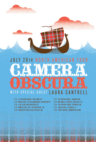 2014 North American Tour Poster