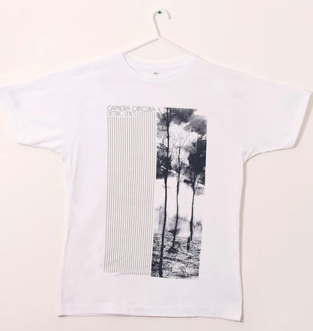 Mens ' Desire Lines' t-shirt White