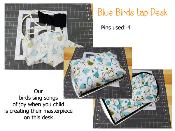KidEssence-lap desk-blue birds