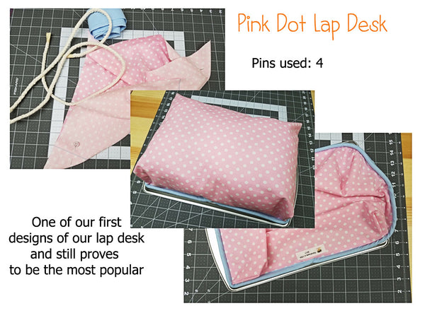 Pink Dot Lap Desk