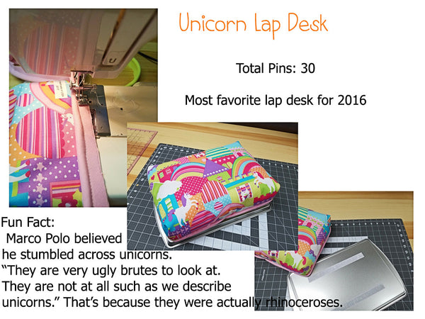 KidEssence Unicorn Lap Desk