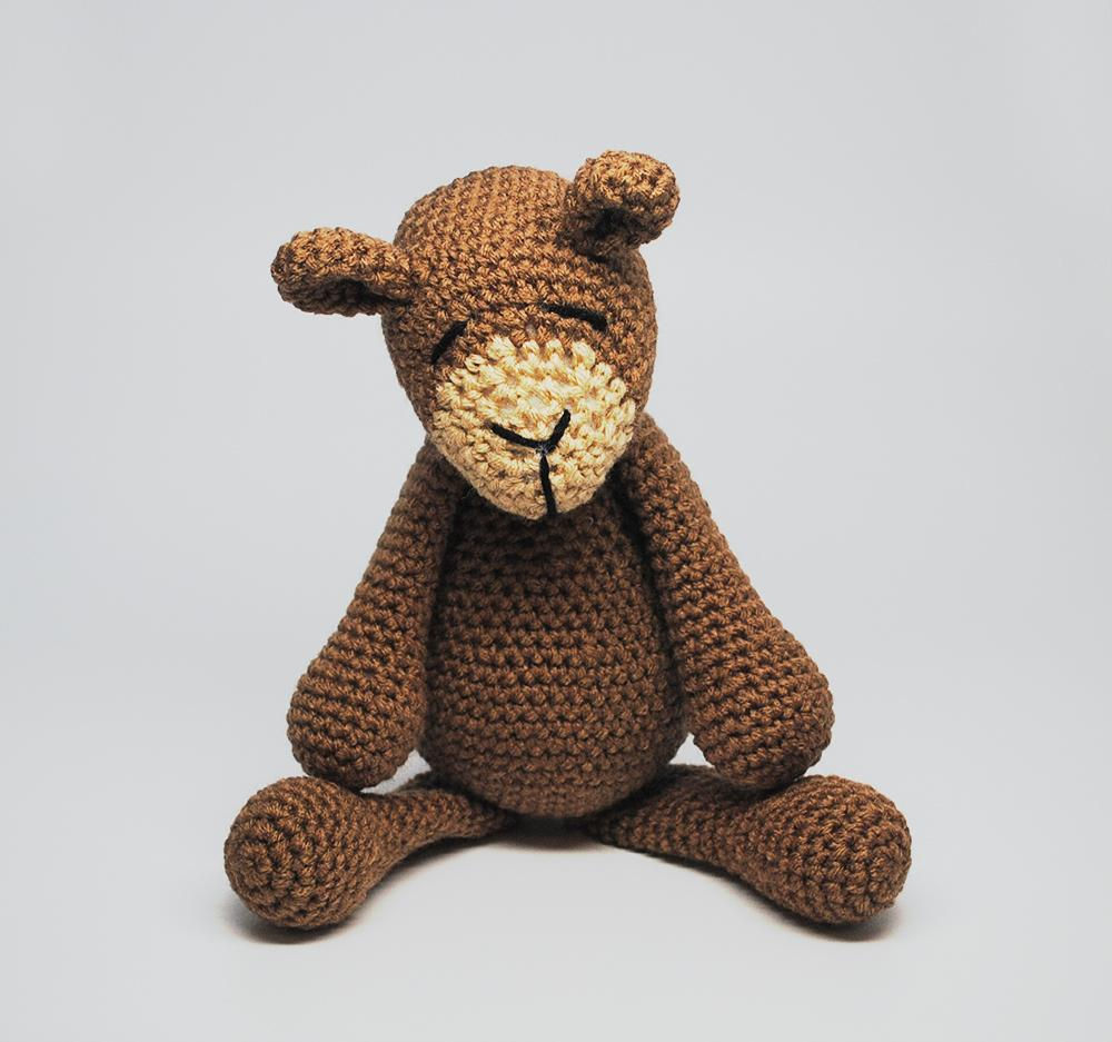 KidEssenceShop: Stuffed Animals - Stuffed Brown Bear