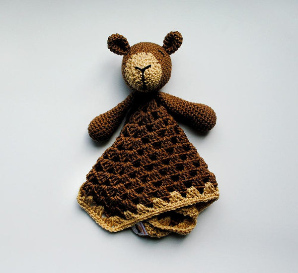 KidEssenceShop: Baby Toys - Brown Bear Lovey