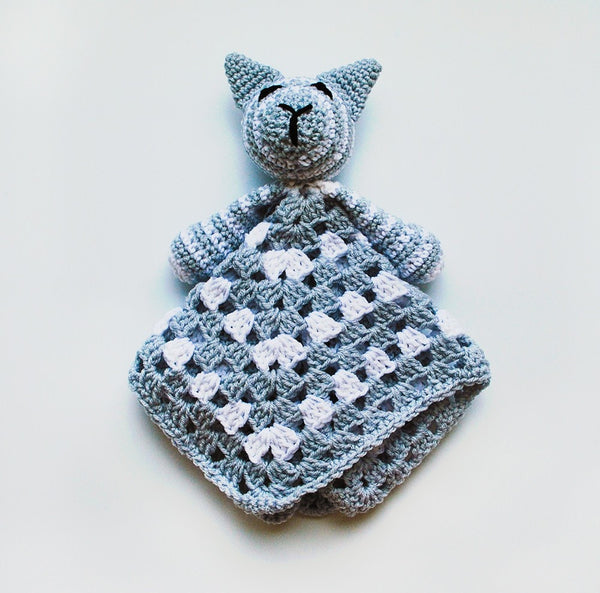Baby Cat Lovey Blanket