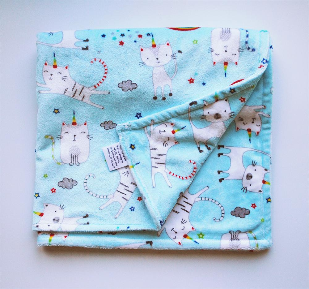 KidEssenceShop:  - Caticorn Minky Blanket