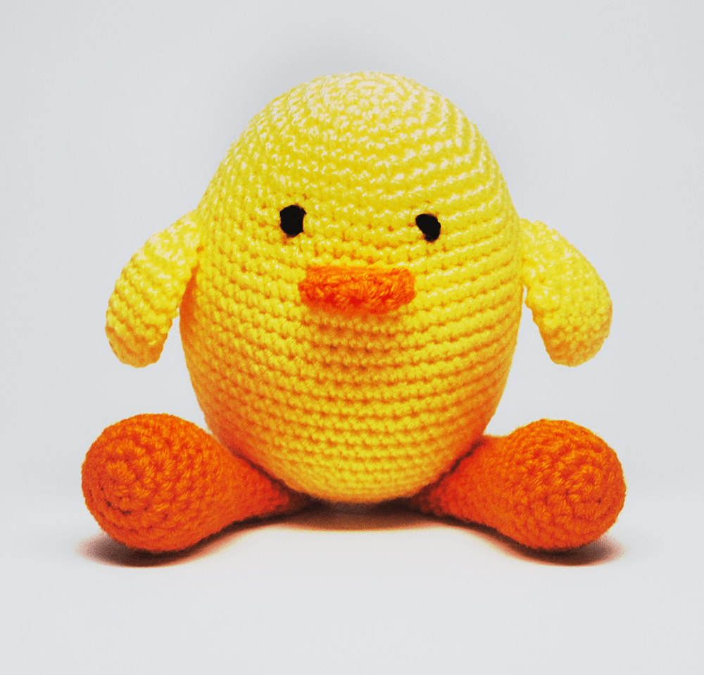 KidEssenceShop: Baby Toys - Crochet Stuffed Chick