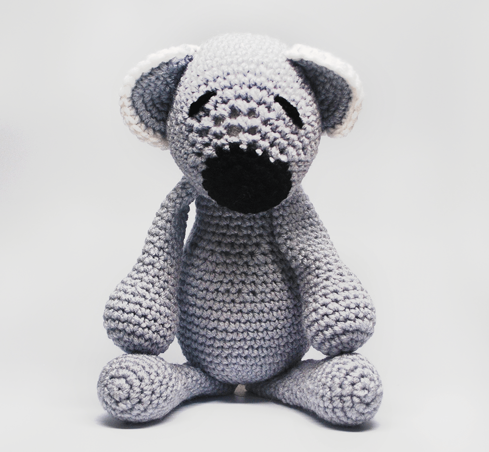 KidEssenceShop: Baby Toys - Crochet Stuffed Koala