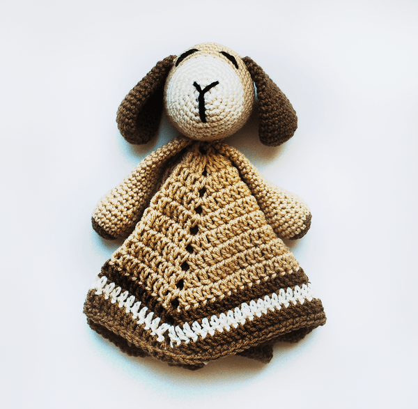 KidEssenceShop: Baby Toys - Baby Dog Lovey Blanket