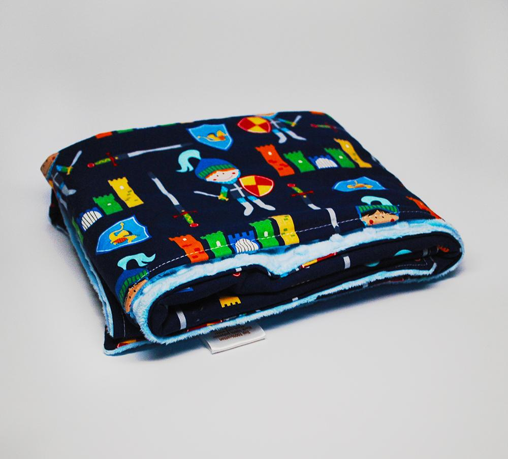 KidEssenceShop: Baby Blanket - Good Knight Minky Blanket