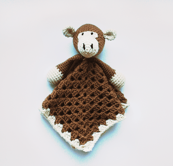 KidEssenceShop: Baby Toys - Monkey Lovey Baby Blanket