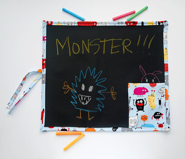 KidEssenceShop: Travel Toys - Monsters Travel Chalkboard