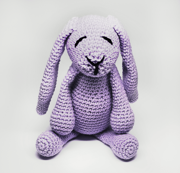 KidEssenceShop: Baby Toys - Crochet Stuffed Bunny