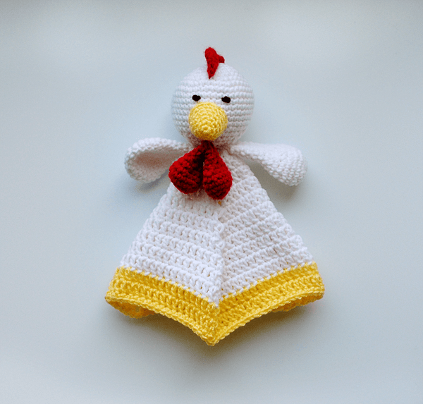 KidEssenceShop: Baby Toys - Rooster Lovey