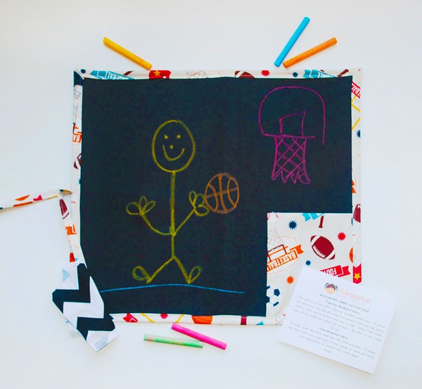KidEssenceShop: Travel Toys - Kid's Travel Chalkboard in Sports