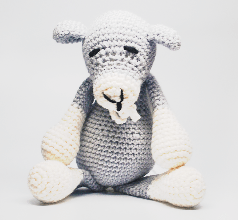 KidEssenceShop: Baby Toys - Crochet Stuffed Goat