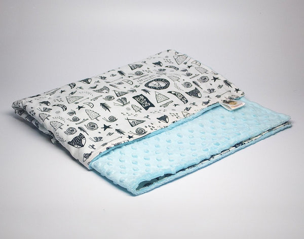 KidEssenceShop: Baby Blanket - Minky Baby Blanket - Wild Child