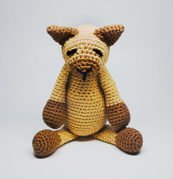 KidEssenceShop: Baby Toys - Crochet Stuffed Cat