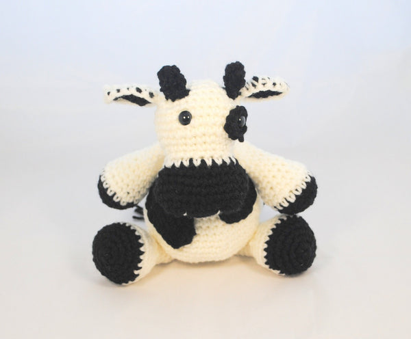 KidEssenceShop: Baby Toys - Crochet Stuffed Cow